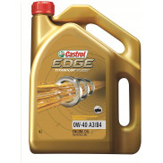 Castrol Edge 0W-40 API SN Fully Synthetic Engine Oil for Petrol Cars (4 L)