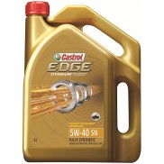 Castrol Edge 5W-40 API SN Fully Synthetic Engine Oil for Petrol and Diesel Cars(4 L)