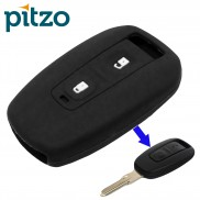 Car Silicone Key Cover for 2 Button Remote Key Shell Body Case for TATA